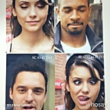 Dobrev, Johnson, and Wayans closed on their filming period together with some portraits. Source: Nina Dobrev on WhoSay