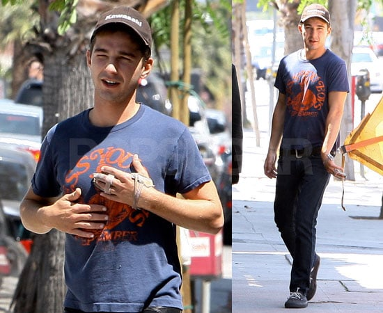 """Shia LaBeouf Says His Hand Injury Is Like a Tattoo That Says """"Mistake"""""""