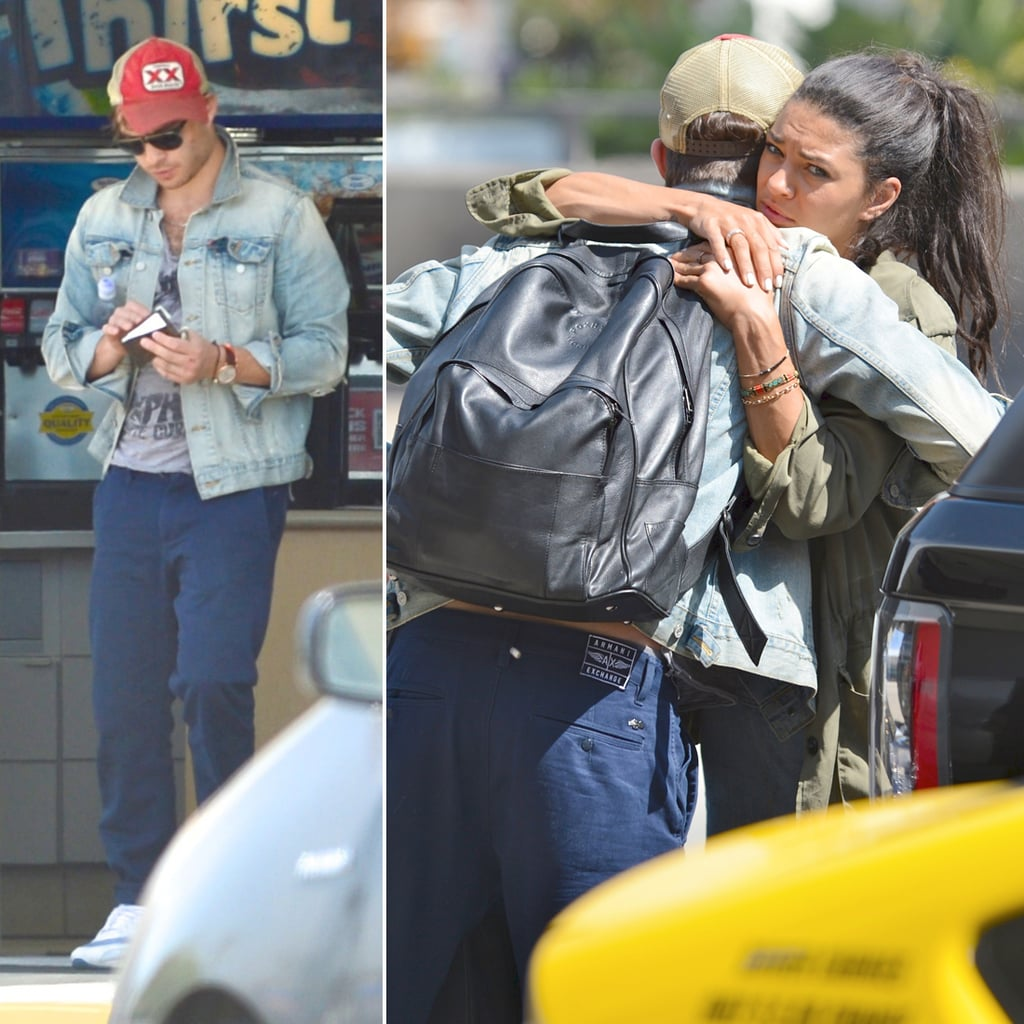 Jessica Szohr and Ed Westwick Reunite For a Sweet Send-Off