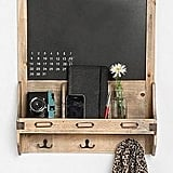 This Reclaimed Wood Chalkboard ($49), is perfect for my apartment. The chalkboard allows me to leave messages to my roomies, as well as a place to hang my keys.   -– Colleen Doyle, editorial intern