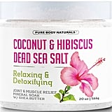 Dead Sea Bath Salts with Coconut and Hibiscus