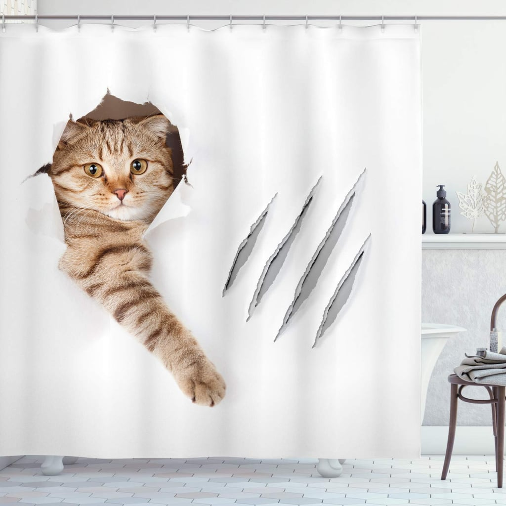 Playful Cat Shower Curtain Funny And Weird Shower Curtains On Amazon 2019 Popsugar Home Uk Photo 19