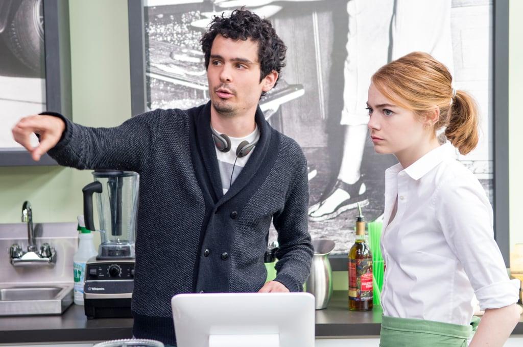 Best Director: Damien Chazelle, La La Land