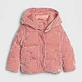 There is perhaps no texture that feels as quintessentially appropriate for Winter as velvet, so help little ones channel festive vibes in this Toddler ColdControl Max Velvet Puffer ($98).