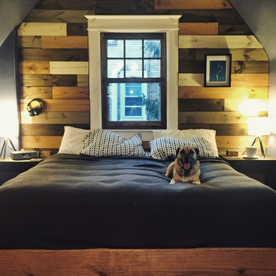 Accent Wall Bedroom Renovation on Imgur
