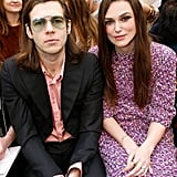 Keira Knightley and Husband James Righton Sat Front Row