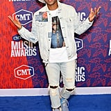Jimmie Allen at the 2019 CMT Awards