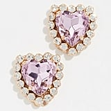 Anton Heunis Heart Stud Earrings