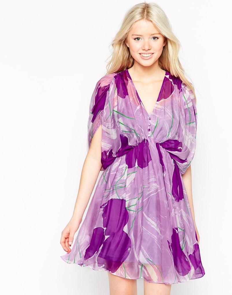 Traffic People Silk Flyaway Dress ($123)