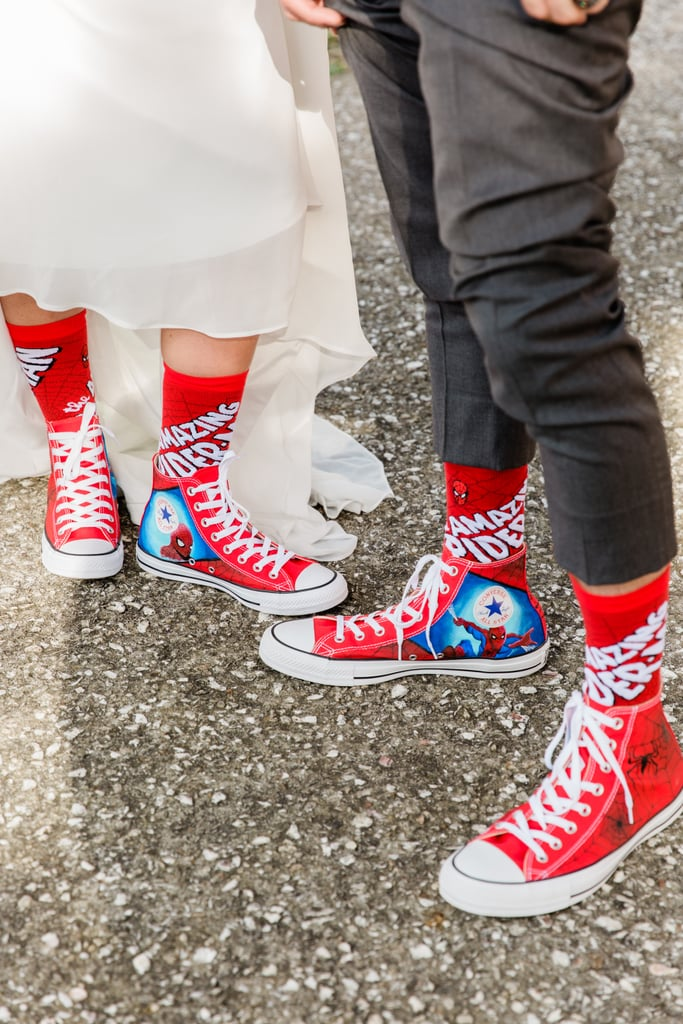 """This Spider-Man-Themed Wedding Is """"Marvel-ous"""""""