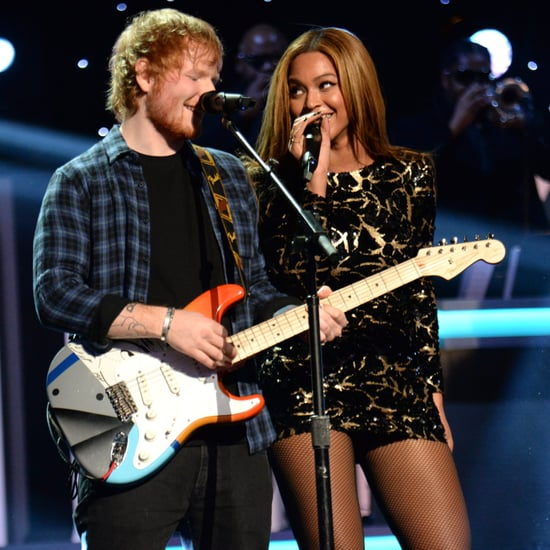 Ed Sheeran and Beyonce Knowles Performing Together