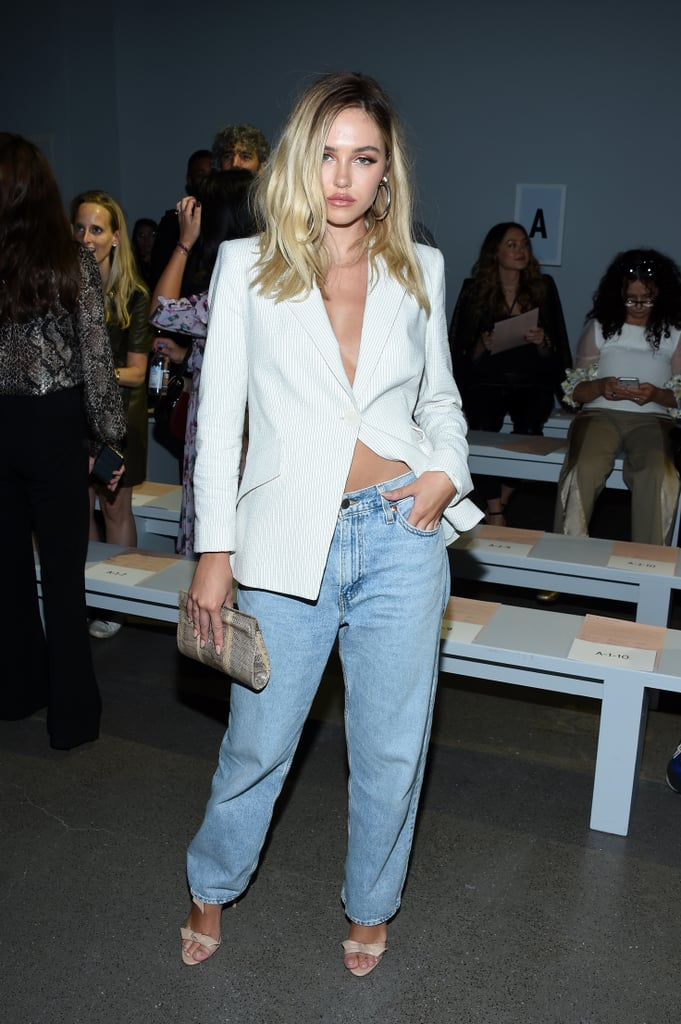 Delilah Belle Hamlin at the Elie Tahari New York Fashion Week Show