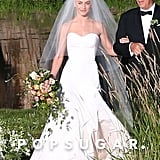 Julianne Hough Marchesa Wedding Dress