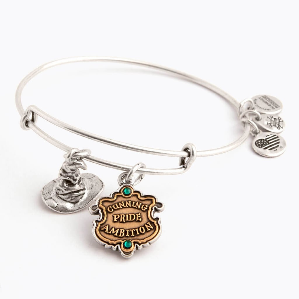 Harry Potter Slytherin and Sorting Hat Duo Charm Bangle