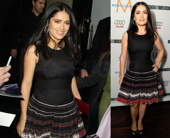 Photos of Salma Hayek Hosting a Book Launch at Beso in LA