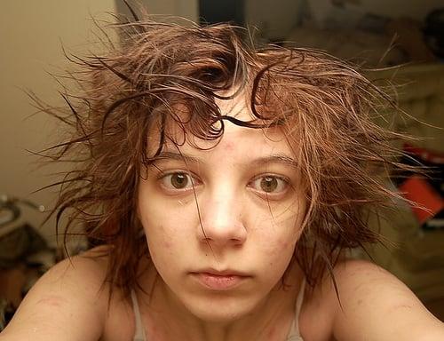The Dream: Messy Hair