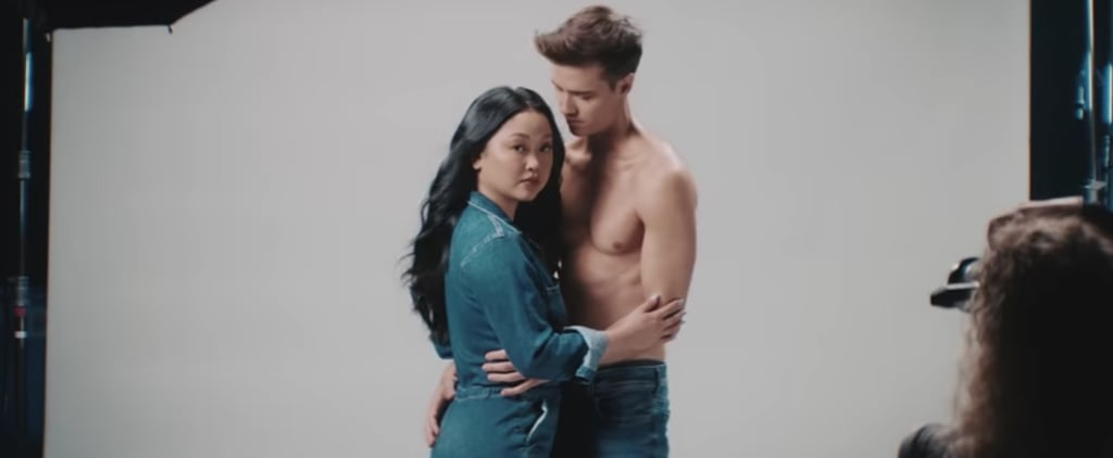 "Lana Condor Anthony De La Torre ""Raining in London"" Video"