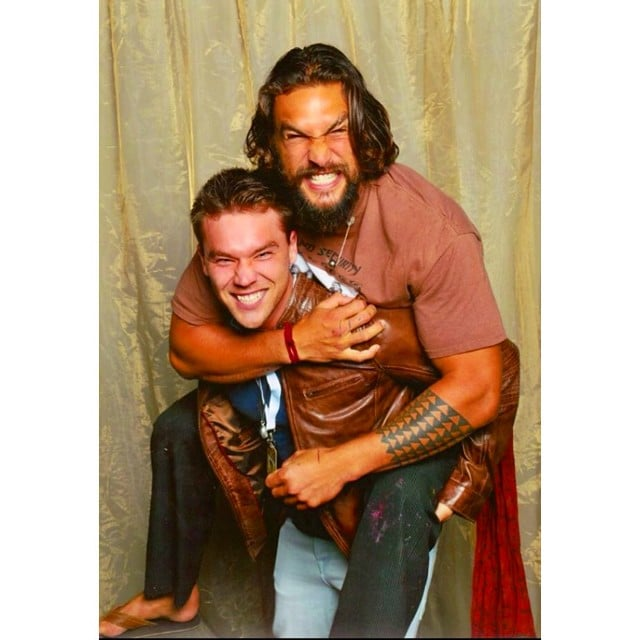 Lincoln lewis got to meet and give a piggyback to jason momoa at lincoln lewis got to meet and give a piggyback to jason momoa at brisbanes m4hsunfo