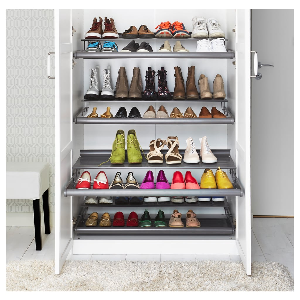 I Lined the Bottom With 2 Pull-Out Shoe Shelves & I Lined the Bottom With 2 Pull-Out Shoe Shelves | Ikea Wardrobe ...
