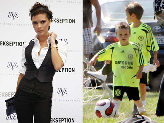 Photos of Victoria Beckham Launching dVb Denim in Spain