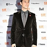 Joseph Gordon-Levitt came out to support 50/50 at the Toronto Film Festival.