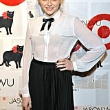Chloe Moretz hit the red carpet for Jason Wu for Target.