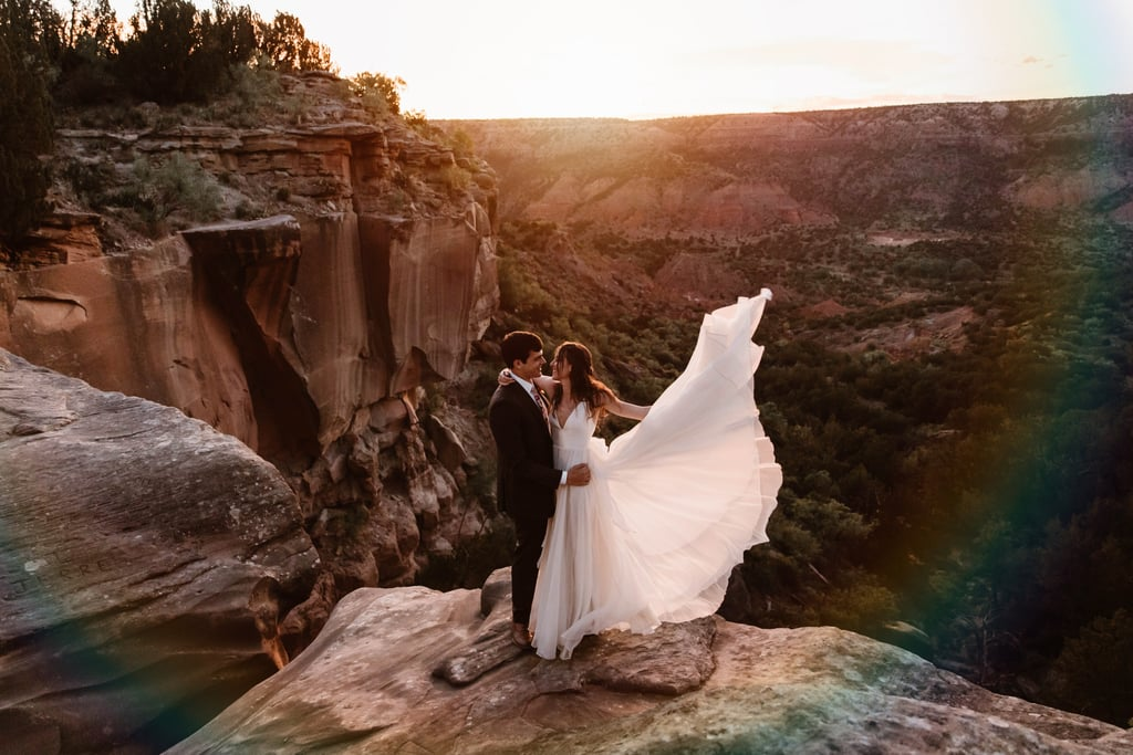 Intimate Outdoor Wedding at Palo Duro Canyon State Park