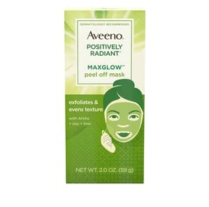 Aveeno Positively Radiant MaxGlow Peel Off Face Mask