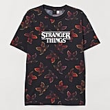 Stranger Things x H&M T-Shirt With Printed Design