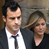 Jennifer Aniston and Justin Theroux's Date Night at Christie's Auction House (Video)