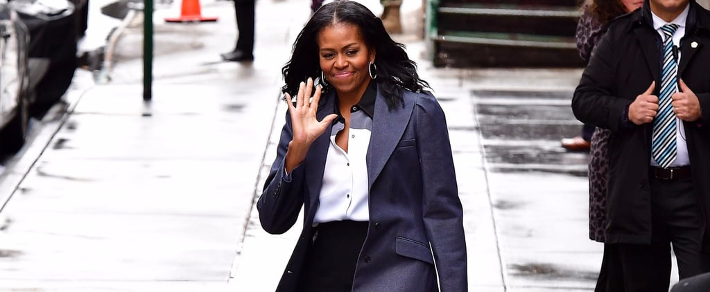 Michelle Obama Masters Post-FLOTUS Style With an It Bag at Her Side