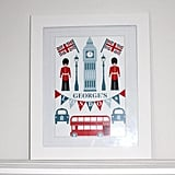 Lula With Love London Big Ben Print