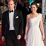 February: Kate and Will had a date night at the BAFTAs.