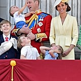 Prince Louis Waving at Trooping the Colour Video 2019