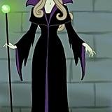 Princess Aurora as Maleficent