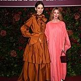 Roksanda Ilincic and Lauren Cuthbertson  at the 65th Evening Standard Theatre Awards