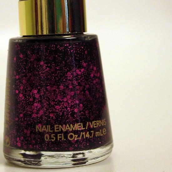 Revlon Glitter Nail Polish: Facets of Fuchsia
