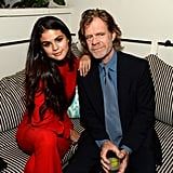 Selena mingled with William H. Macy on Saturday.