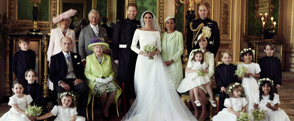 Official Royal Wedding Photo Position Significance