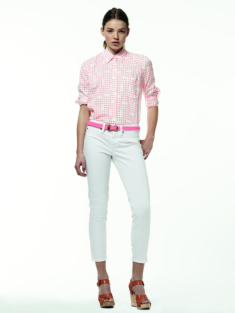 Instead of wearing all brights, try a more subtle approach to your neon hues.