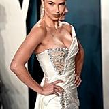 Adriana Lima at the Vanity Fair Oscars Afterparty 2020