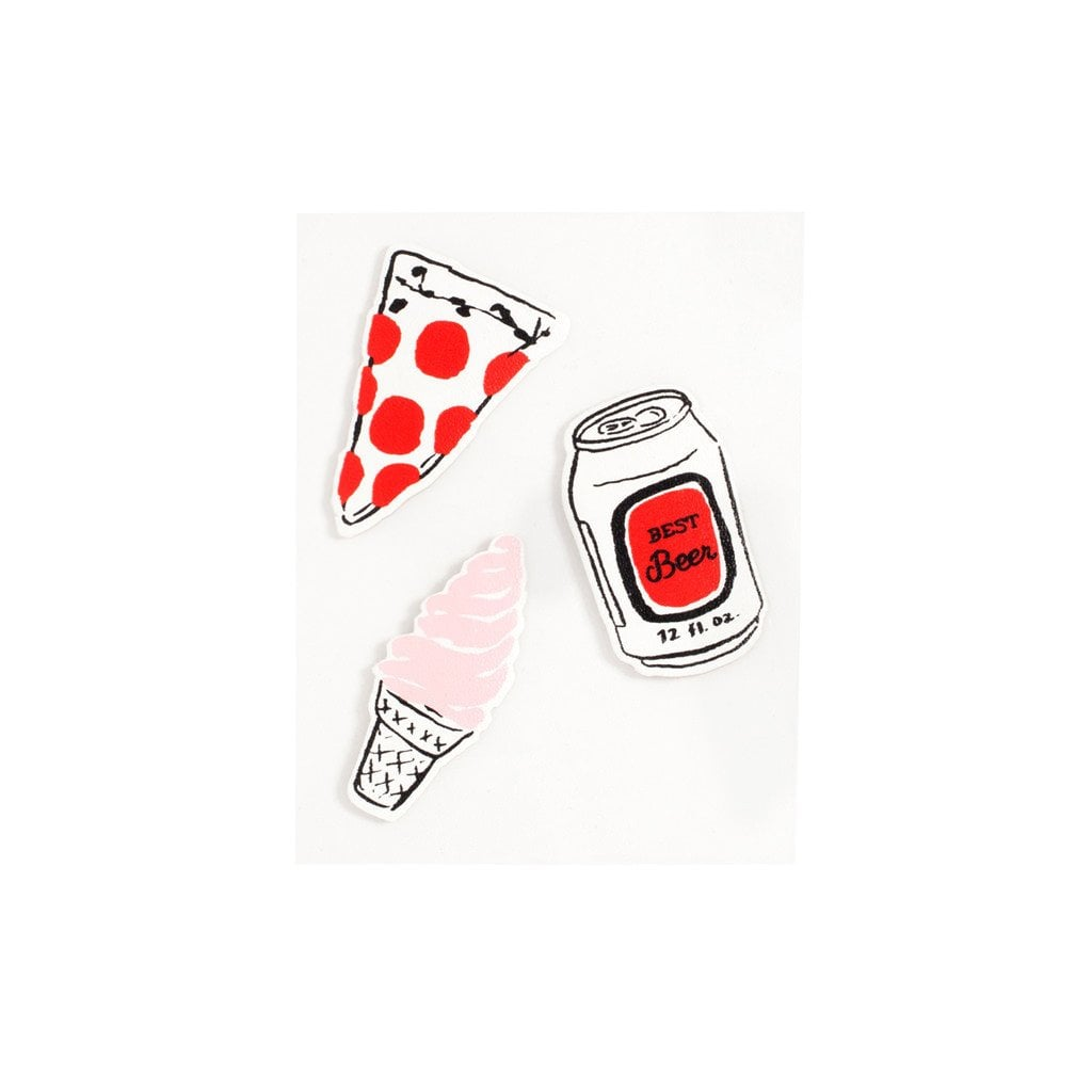Plushie Sticker Set — Party Food ($10)