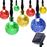 Prolight Waterproof Multicolor Christmas Solar String Lights