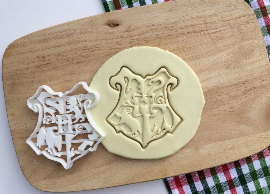 Hogwarts Crest Emblem Logo Cookie Cutter ($5)