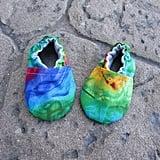 Cabooties Tie Dye Rainbow Baby Shoes