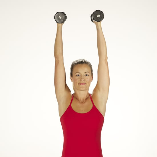 How to Do a Standing Overhead Press With Dumbbells