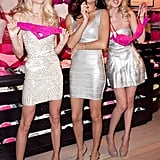 Lindsay Ellingson, Adriana Lima, and Doutzen Kroes posed for Victoria's Secret.
