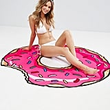 Big Mouth Donut Beach Blanket