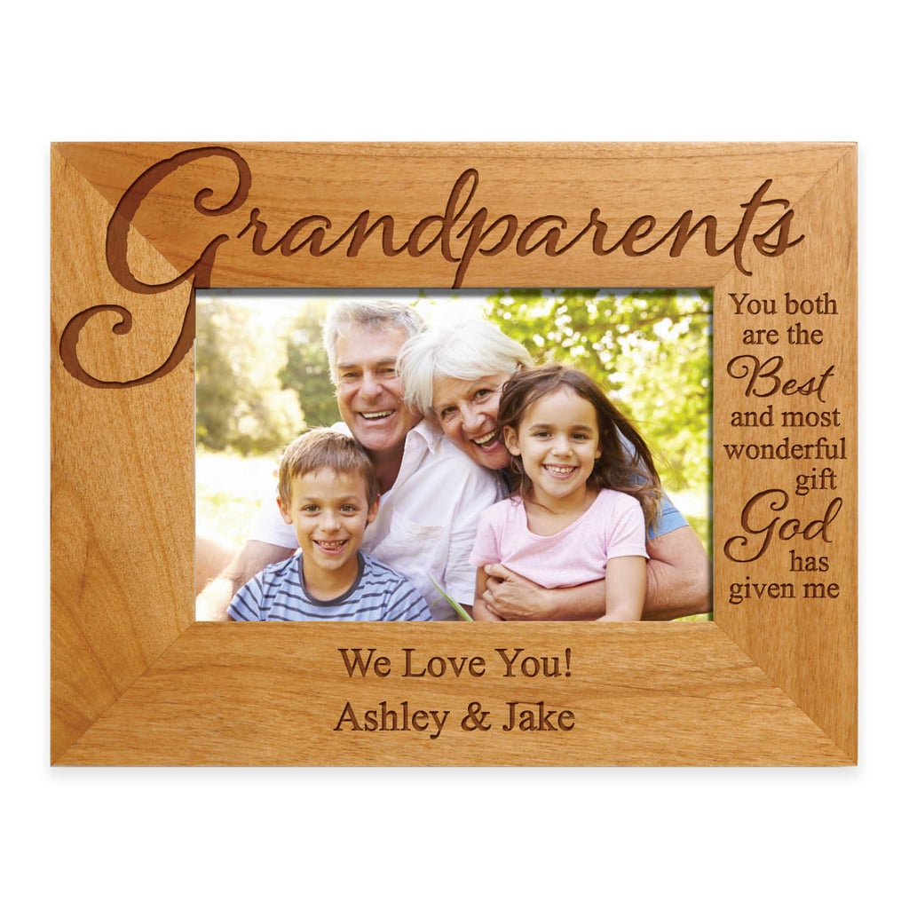 "For the Grandparents Who Appreciate Family Photos: ""The Best Gift"" Personalized Picture Frame"