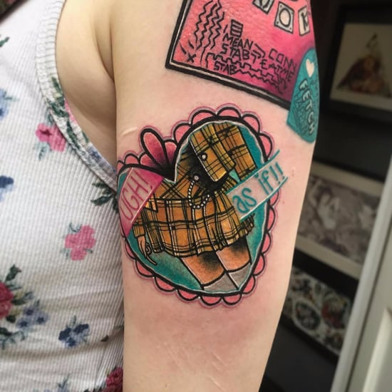 '90s Pop Culture Tattoos